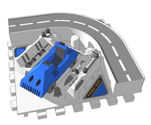 3D diaclone powerbase