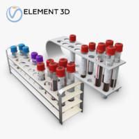 medical tubes set 3D model