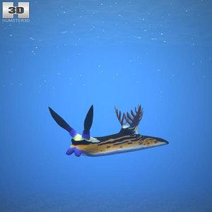 3D model nembrotha megalocera
