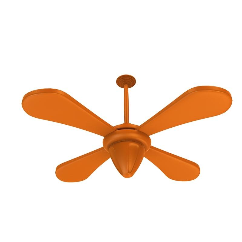 Orange Ceiling Fan Blog Avie