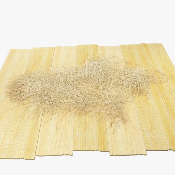 hay boards model
