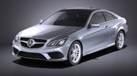 3D coupe 2015 mercedes