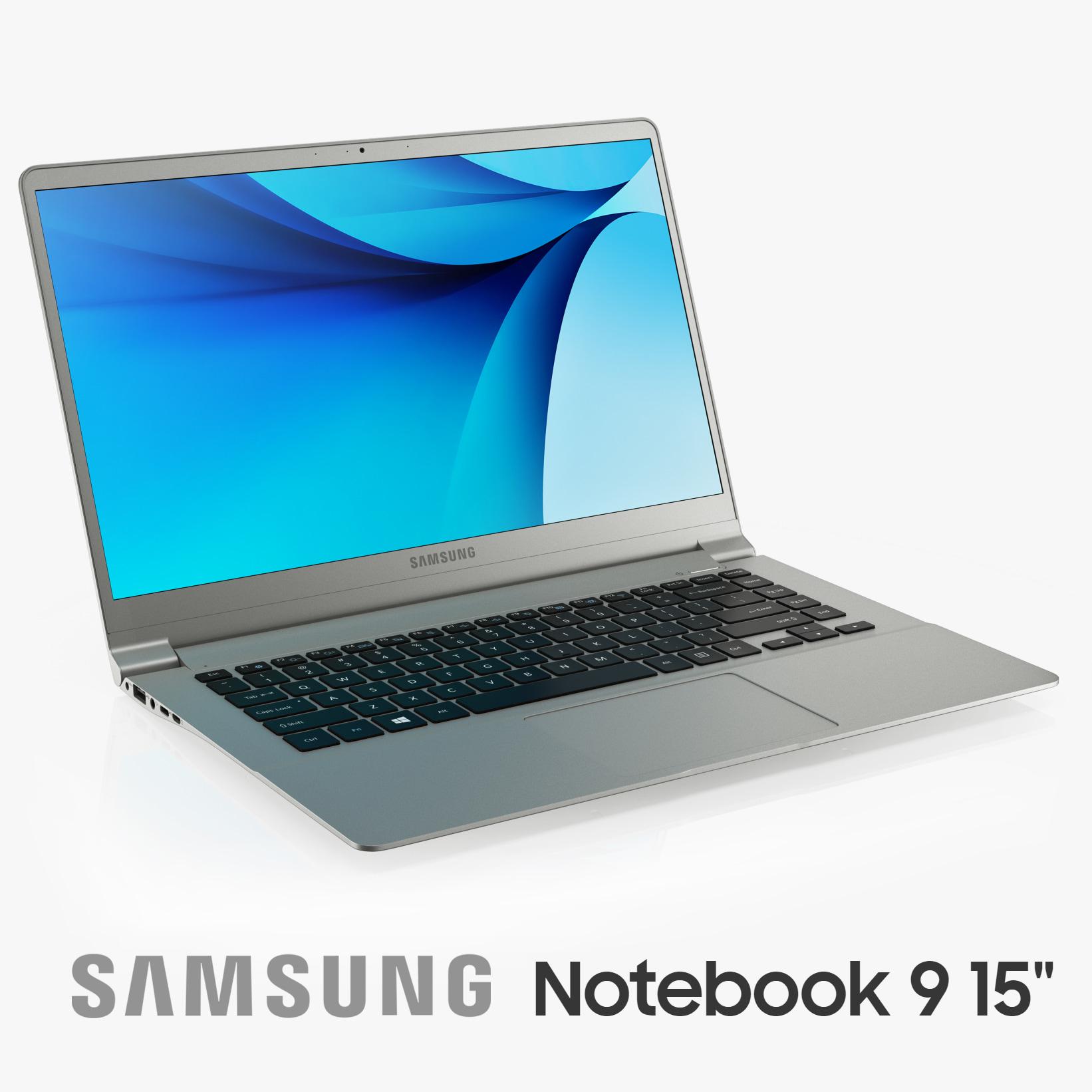 samsung notebook 9 15 3D