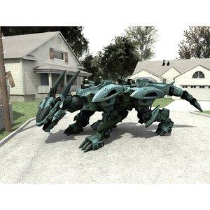robot mech format model