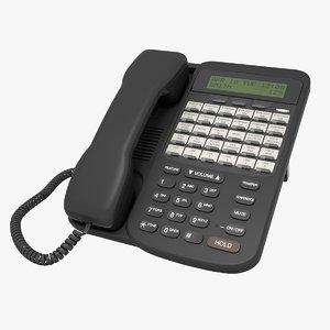 office phone 3D model