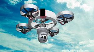 drone dron 3D