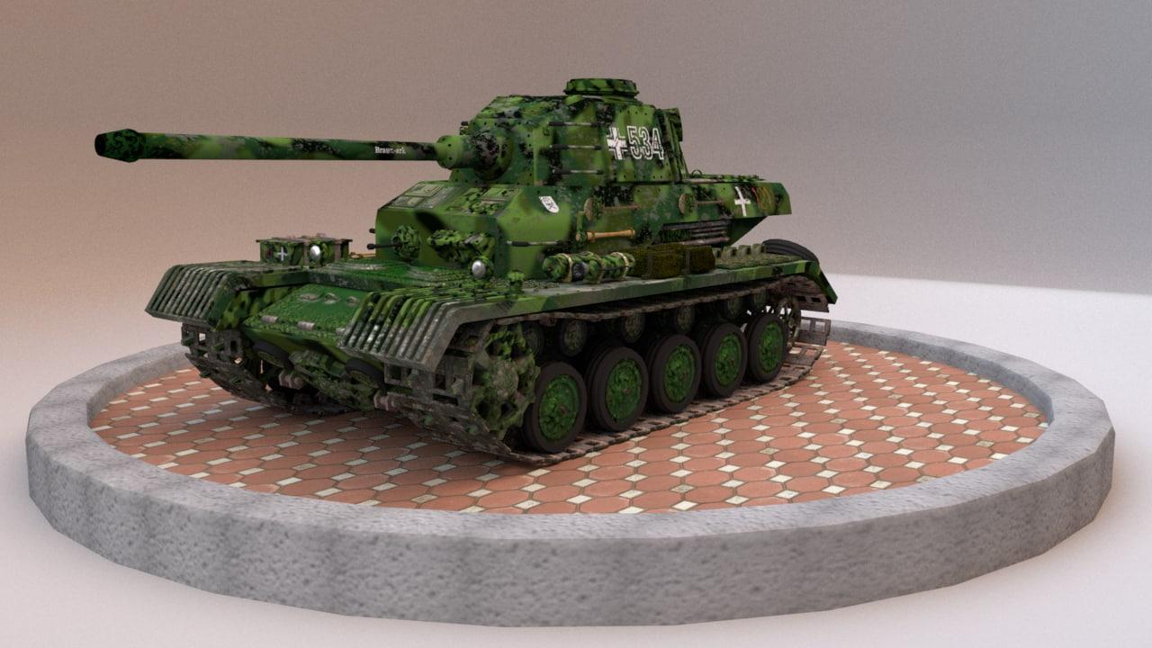 3D panzer iv