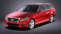 3D 2015 mercedes estate model