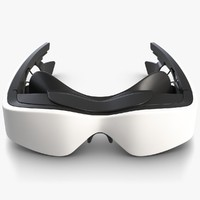 cinemizer virtual reality goggles 3D model