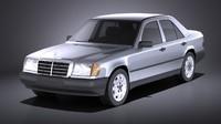 Mercedes W124 E class 1990 VRAY