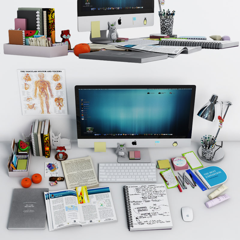 3D decor desk