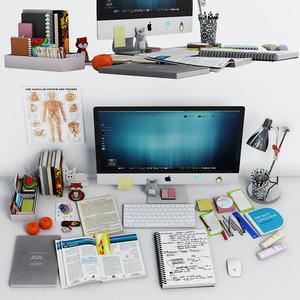 3D decor desk