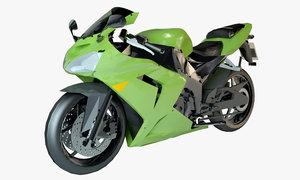 sport ninja bike 3D model