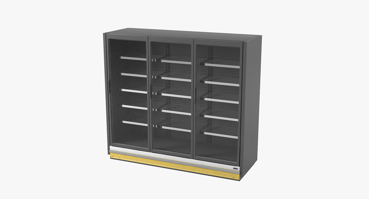 refrigerated case model