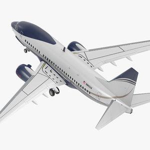 3D boeing 737-600 generic