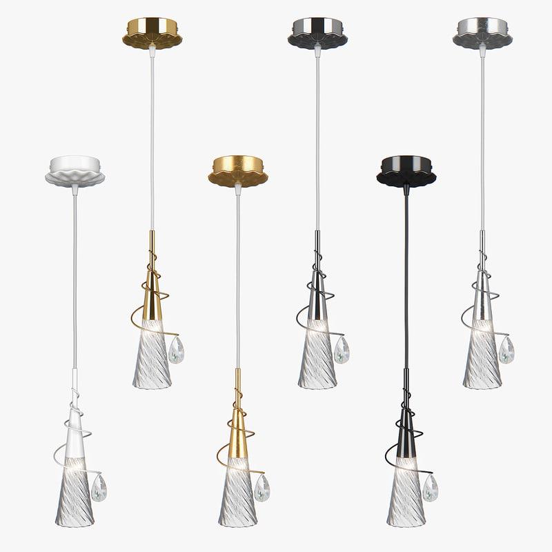 3D pendant light aereo lightstar