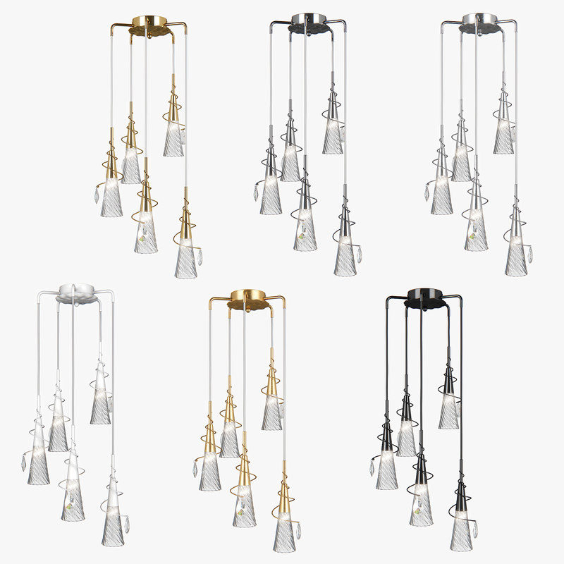 pendant light aereo lightstar 3D model