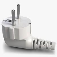 3D power plug 1