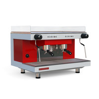 3D coffee machine sanremo zoe model