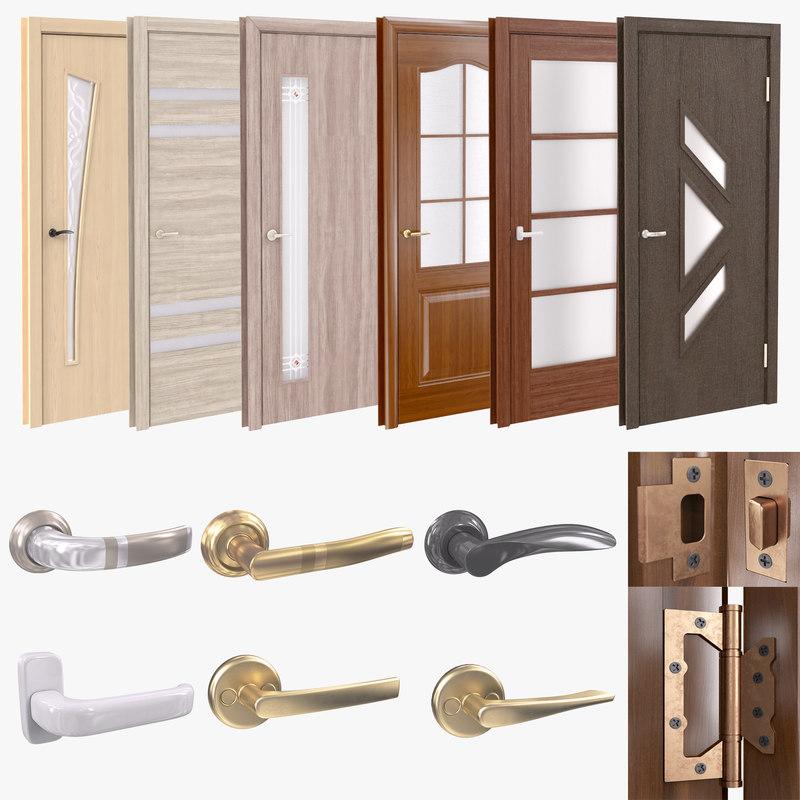 door handles model