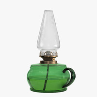 kerosene lamp 3D