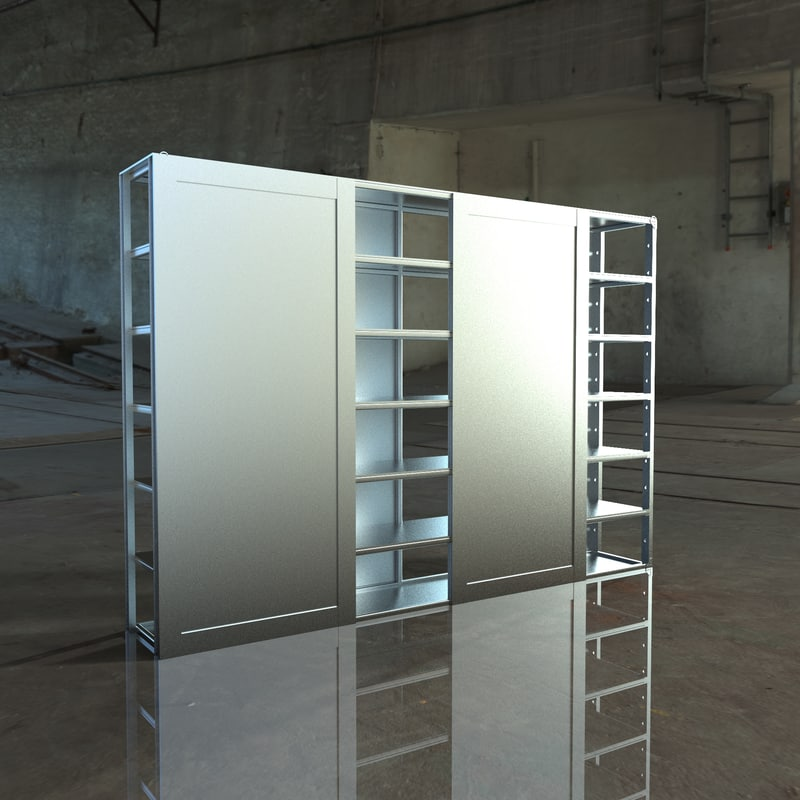cupboard mirrors 3D