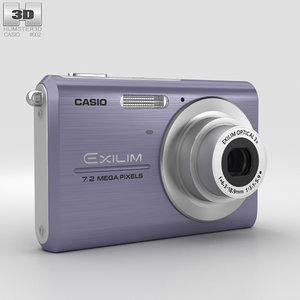 casio exilim ex-z75 3D model