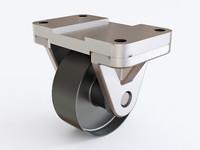 3D castor 01 09 model