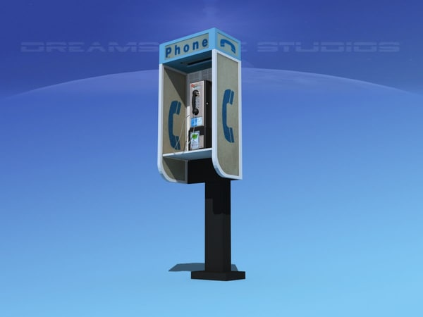3D urban phone pay model
