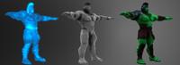 3D hulk armor