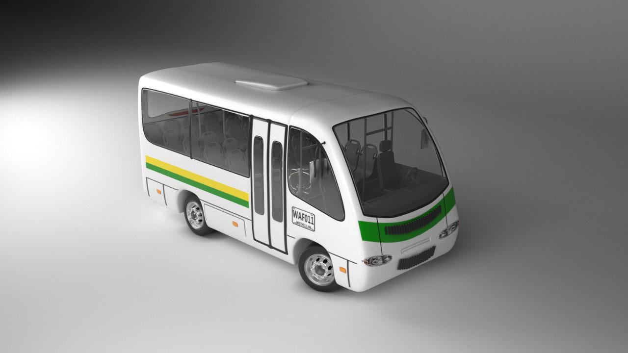 rigg 3D model