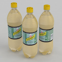3D schweppes ginger ale
