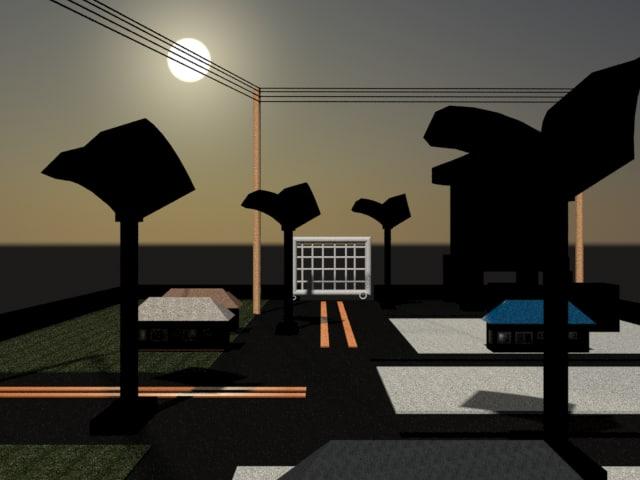 scene 3D