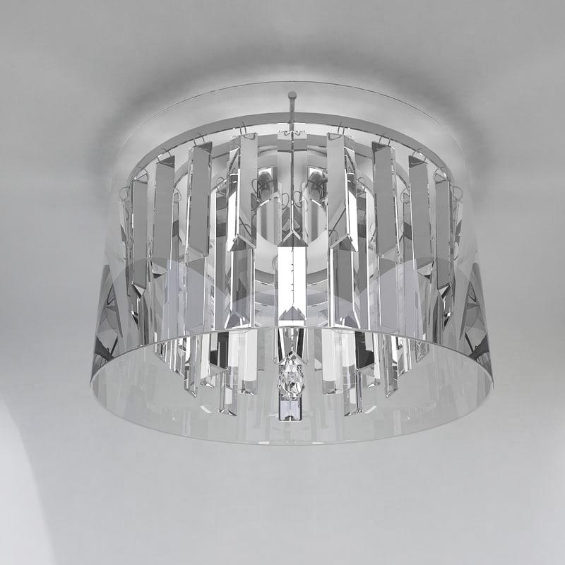 3D chandelier astro lighting asini model
