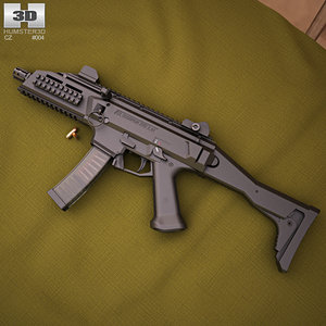 cz scorpion evo 3D model