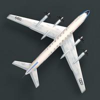 3D model tupolev tu-114