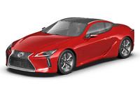 3D 2017 lc500 lexus model