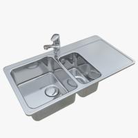 3D sink neo n4017-91l