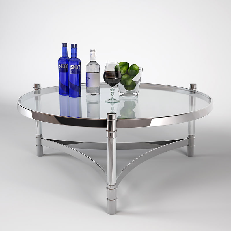 eichholtz coffee table trento 3D model
