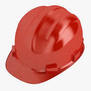 3D model safety helmet