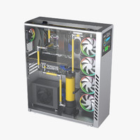 Watercooling Desktop PC