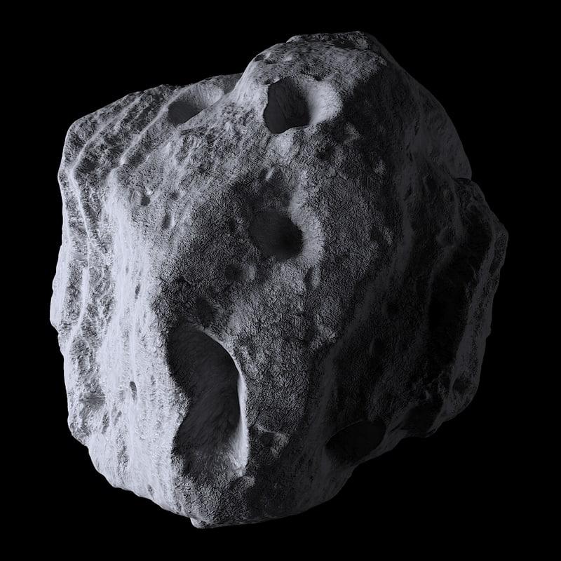 3D asteroid model