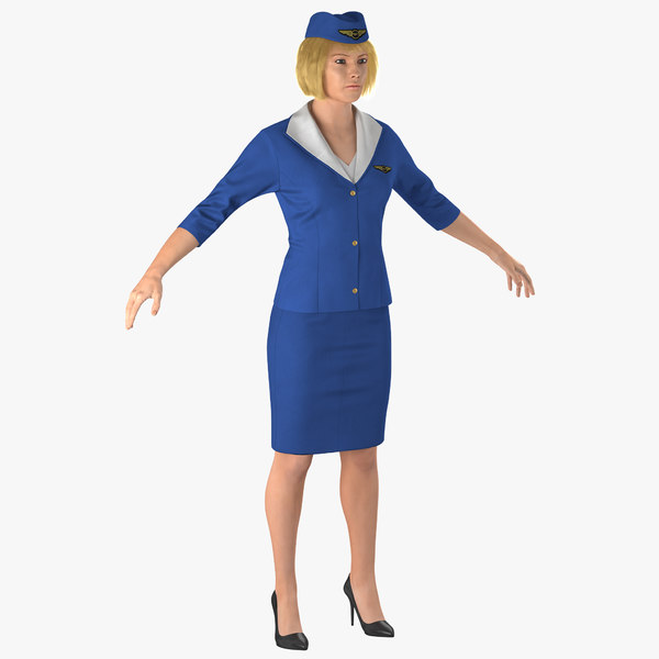 3D woman female