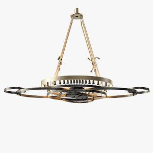 3D sigma l2 7210 chandelier