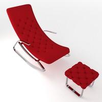tv armchair model