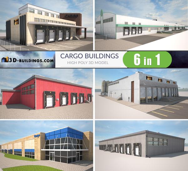 3D building cargo