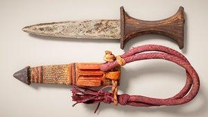 realism scanned knife model