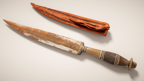 3D model realism knife