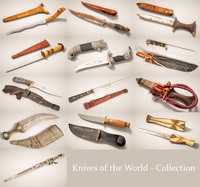 Knives of the World 13 Piece Collection