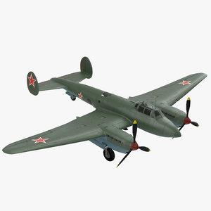 3D model bomber war
